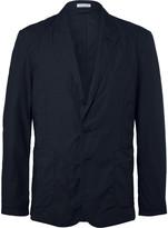Tomas Maier - Blue Riviera Slim-fit Cotton Blazer