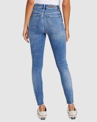 Neuw Marilyn Skinny Jeans Broken Blue