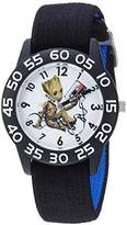 Marvel Boy's 'Guardian' Quartz Plastic and Nylon Casual Watch