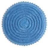 Sky Round Crochet Bath Rug