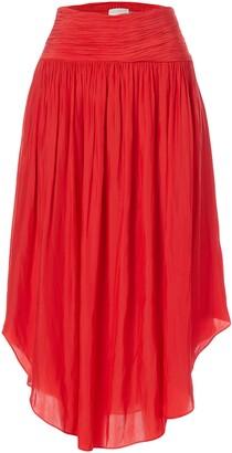 Ramy Brook Women's Jessy Midi Skirt with Slit