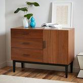 Reede 3-Drawer Dresser + Cabinet