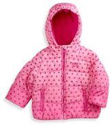 Osh Kosh Polka Dot Bubble Coat in Pink