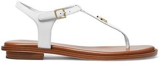 MICHAEL Michael Kors Mallory Leather Thong Sandals
