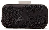 Vince Camuto Cindy Embellished Minaudiere - Black