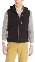 Kenneth Cole New York Kenneth Cole Men's Zip Off Hood Vest