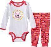Skip Hop Baby Girl Graphic Bodysuit & Pants Set