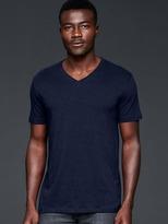 Gap Indigo V-neck t-shirt