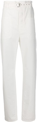 Isabel Marant Paperbag-Waist Slim-Fit Trousers