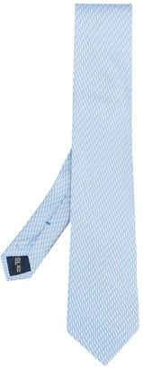 Salvatore Ferragamo Shell Print Silk Tie