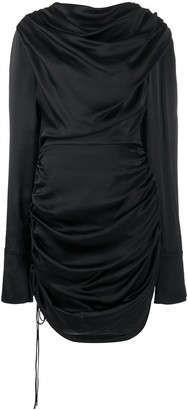 MATÉRIEL Asymmetric Ruched Dress