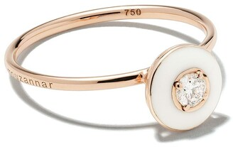 Selim Mouzannar 18kt rose gold diamond Mina ring