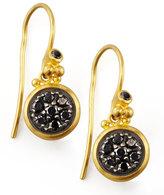 Gurhan Moonstruck 24k Black Diamond Drop Earrings