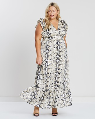 Atmos & Here Suzy Maxi Dress