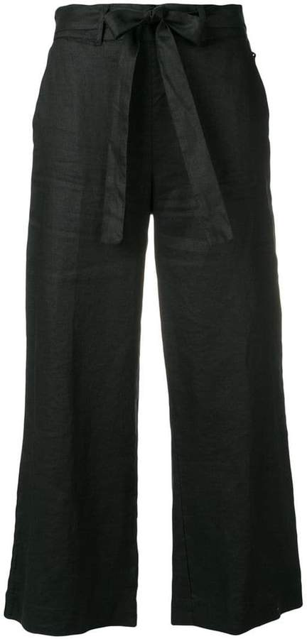DKNY cropped wide leg trousers
