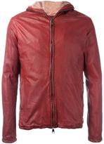 Giorgio Brato zipped hooded jacket