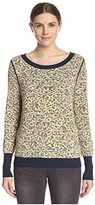 Shae Women's Animal Print Pullover