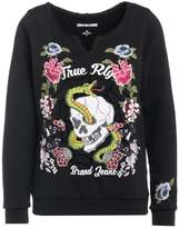 True Religion FLOWER Sweatshirt black