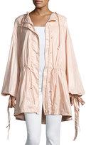 FENTY® PUMA® by Rihanna Tie-Cuff Drawstring Parachute Jacket, Pink