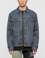 10.Deep Steel Toe Denim Jacket