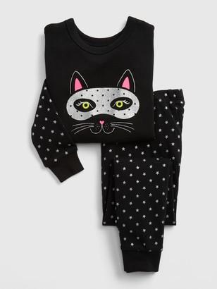Gap Baby Glitter Cat PJ Set