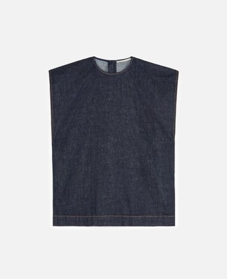 Stella McCartney Piper Denim Top, Women's