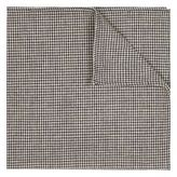 River Island Black And White Dogtooth Pocket Square