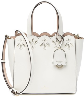 Kate Spade magnolia street leather eyelet mini satchel