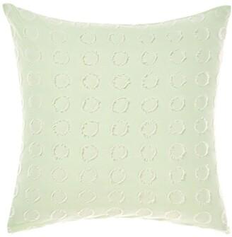 Linen House Benedita Cushions Mint Cushion-50x50cm