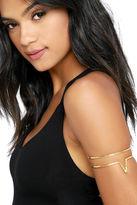 Natalie B Wanderer Gold Arm Cuff