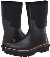 Carhartt Mudrunner 10 Non-Safety Waterproof Rubber Boot (Black) Men's Work Boots
