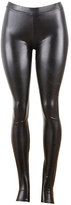 Kova & T Black Latex Leggings