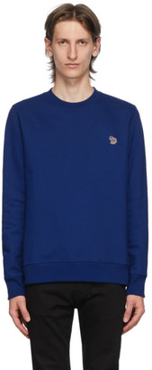 Paul Smith Blue Zebra Sweatshirt
