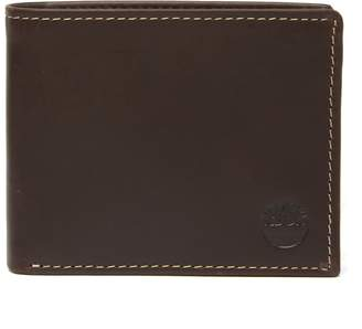 Timberland Distressed Leather Wallet