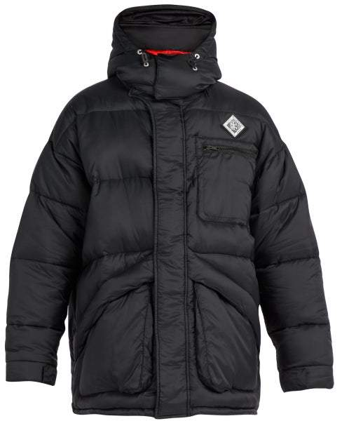 Givenchy Oversized Padded Shell Jacket - Mens - Black
