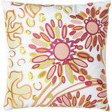 "Trina Turk Floral Pillow, 20""Sq."