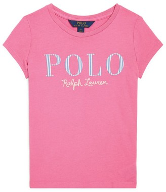 Ralph Lauren Kids Floral Logo T-Shirt (5-7 Years)