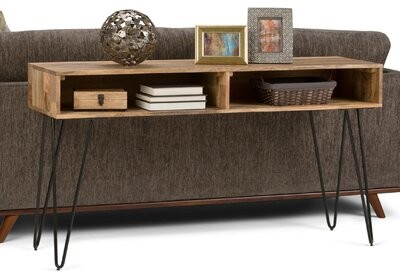 Thumbnail for your product : Union Rustic Claudia Console Table