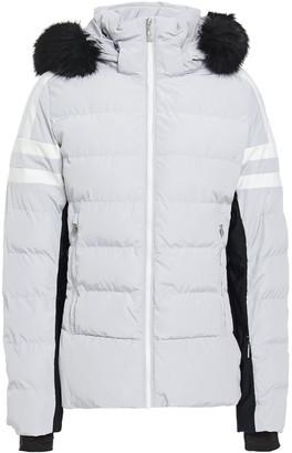 Fusalp Faux Fur-trimmed Quilted Ski Jacket