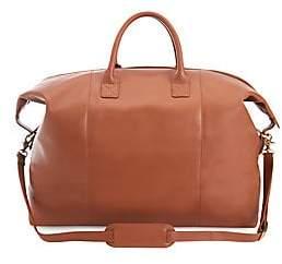 ROYCE New York Women's Leather Weekender Bag