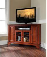 Crosley LaFayette Cherry Storage Entertainment Center