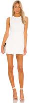 Alice + Olivia Kelsey Asymmetrical Drape Dress