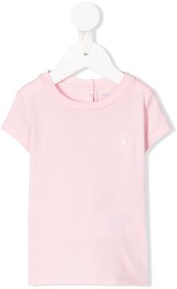 Ralph Lauren Kids round neck jersey T-shirt