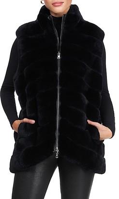 Gorski Reversible Rex Rabbit Fur Vest