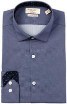 Original Penguin Dotted Slim Fit Dress Shirt