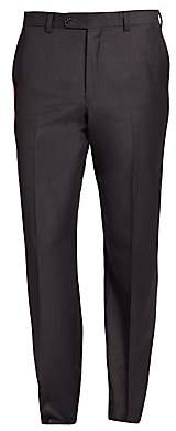 Saks Fifth Avenue Wool Flat-Front Pants