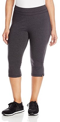 Spalding Women's Plus-Size Straight Leg Crop Pant