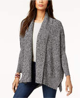 Style&Co. Style & Co Open-Front Shawl Cardigan, Created for Macy's