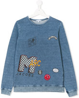 Little Marc Jacobs patch detail sweatshirt