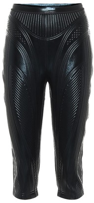Thierry Mugler Compression biker shorts